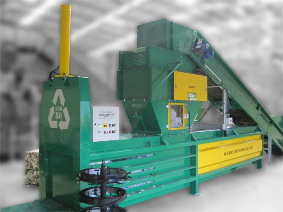 STATIC RECYCLING BALER 80